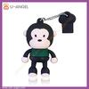 fancy usb/pvc usb flash drive/monkey shape usb flash drive