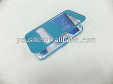 FLIP S-VIEW LEATHER MOBILE PHONE CASE COVER FOR Samsung Galaxy Note 2 N7100