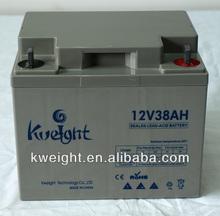 12V 38AH High Quality ups inverter battery charger battery