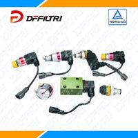 Hydraulic Oil Filter Indicator/Clogging Indicator with Vacuum Gauge and Pressure Gauge