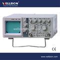 Ca8016b, osciloscopio analógico, osciloscopio de la crt, osciloscopio 10 mhz