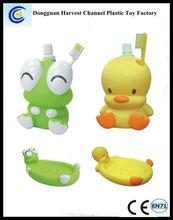 Eco friendly animals plastic bathroom accessories