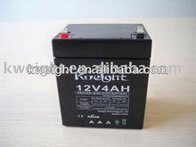 free maintenance storage battery 12V 4AH