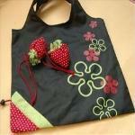 big shopper,zebra gift bags,fruit folding shopping bag