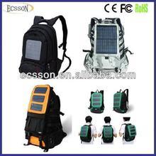 12000mAh solar rechargeable bag,solar energy bag