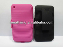 2013 new product mobile phone belt clip case for iphone3G