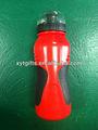 garrafa de plástico esportes garrafa com bico