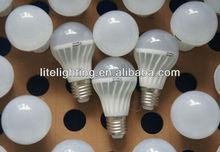 50000hrs New Aluminum plastice CE EMC/LVD E27 10 LED bulb