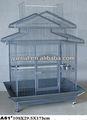 Grande playtop gaiola do papagaio, metal gaiola do papagaio fio, gaiola de aço inoxidável para a venda