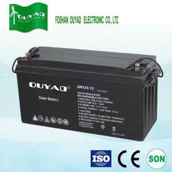 Sealed lead acid battery 12V 120Ah battery for solar wind system
