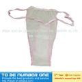 Jetable papier sous - vêtements, Spa sous - vêtements jetables, Jetables non tissés femmes sous - vêtements