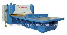 QC11K-Q- 6x3200 CNC front table feeding shear,hydraulic guillotine shear,steel plate cutting machine for 6mm