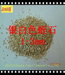 silver white crude vermiculite exporter