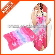 Funny colorful sarong tenun