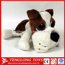 2015 new big eyes big head plush dogs stuffed animal