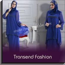 Islamic clothing Pakistani style Modern neck design chiffon kurta for women