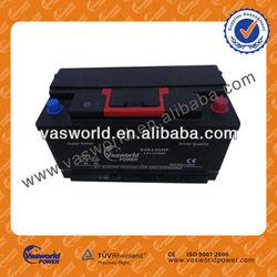 60038 12V100AH Europe technology and standard MF auto batteri