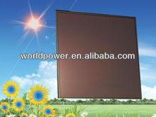 50W 100W 200W BIPV Thin Film Amorphous Silicon Solar Panel