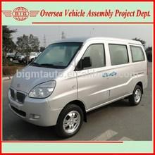 Super Cold A/C New China Gasoline Passenger Van for Sale