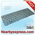 Véritable nouveau pavillon dv5 dv5-1000 series laptop keyborad d'argent mise en page nous ar la sp. fr uk. Etc