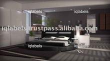 Luxury Leather Round Bed 890