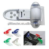 3 LED Plastic Booklight