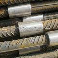 Paralelo hilo de barras de refuerzo de acoplamiento de construcción de hormigón material de construcción