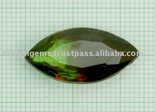 Bicolor Glass Marquise Cut Calibrated Loose Stones