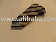 Striped neckties