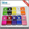 "Deluxe chrome kickstand phone case for iphone 5S, for iphone 5"" case"