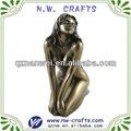 Hot sexy de resina de regalo esculturas