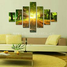 Hanging Frameless Art