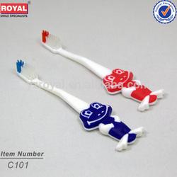 Yangzhou child mini toothbrush/2013 home novelties/tongue cleaner