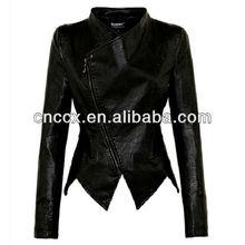 14PJ1026 Qualited pu wear leather biker jackets