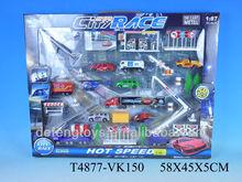 3D 1:87 alloy toy diecast smart diecast cars city race