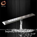 açoinoxidável linear ralo do chuveiro