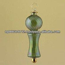 Blown glass Christmas ornament