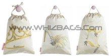 Canvas Cloth Cotton Fabric Woven Gift or Wedding Bags or Sacks