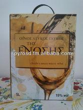 Sweet Wine Moschatos Limnou 5 Lt