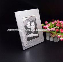 Plata aliuminium marcos de la foto de venta al por mayor con el patrón