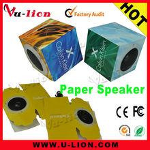 DIY Gift Paper Folding Portable speakers