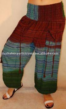 SS2577 Cotton Trouser 3d Tie Dye Batik sarouel Vetement Supplier India Pantalon Falda Harem Pants Alibaba Trousers Vintage Sari