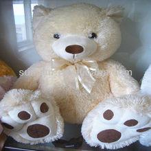 Soft Beige Plush Teddy Bear