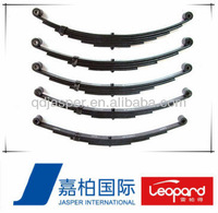 China Truck Suspension System Parts/Leaf Springs/Double Eyes Leaf Spring