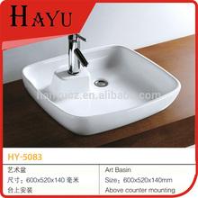 HY-5083 art toilet american standard wash basin