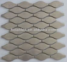 cucurbit shaped stainless steel mosaic tile