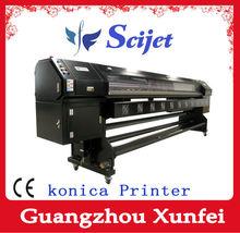 Solvent printer Konica printer with 720DPI resolution for Flex printing