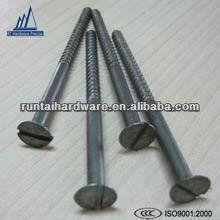 Long slot partial thread wood screws furniture