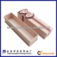 Custom long paper hair extension packaging boxes