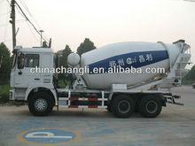 Euro 4 padrão usado / novos 10 metros cúbicos 6 * 4 preços betoneira caminhão